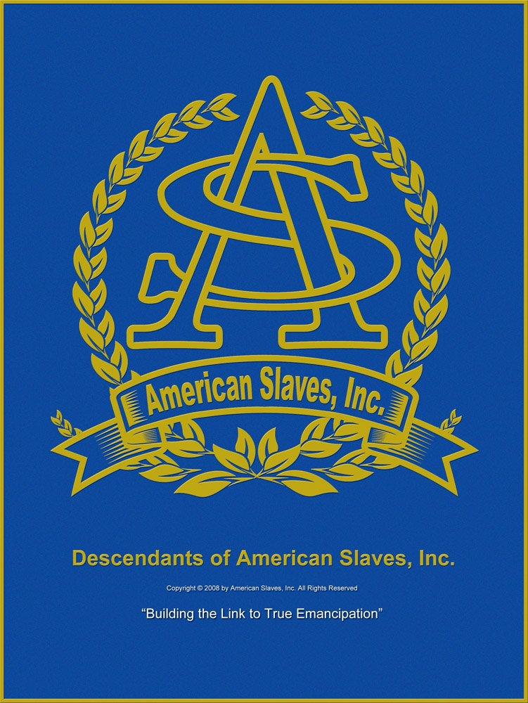 American Slaves Inc. Renaissance Plan: The Next Step Forward - Building the links to true emancipation
