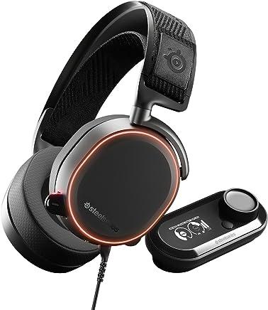 SteelSeries Arctis Pro GameDAC Cuffie da Gioco Audio ad Alta Risoluzione Certificato, ESS Sabre DAC, Cablata, Nero [Edizione 2019] - Trova i prezzi più bassi