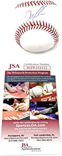Dwight Gooden New York Mets Signed Autograph Official MLB Baseball JSA Witnessed Certified