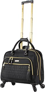 Steve Madden Luggage Illusion Wheeled City Bag (Illusion Black)