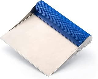Rachael Ray Tools & Gadgets Stainless Steel Bench Scrape, Blue (Renewed)