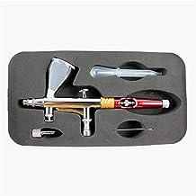Verf Schilderij Air Brush 0.2mm spuitpistool verf spuitpistool kit set dubbele actie spuiten automatische grafische kunst,...