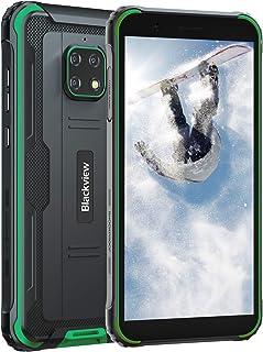 Blackview BV4900 アウトドア スマートフォン 4G SIMフリー スマホ本体 Android 10 IP68 防水 防塵 耐衝撃3GB RAM 32GB ROM 5580mAh大容量バッテリー 5.7インチ 5MP+8MP防水カ...