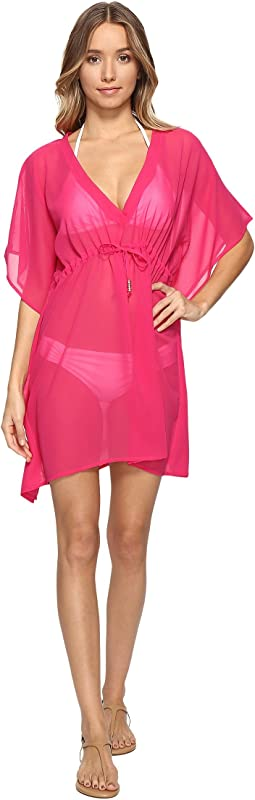 Solid Silky Butterfly Cover-Up