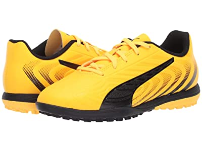 Puma Kids One 20.4 TT Soccer (Little Kid/Big Kid) (Ultra Yellow/Black/Orange Alert) Kids Shoes