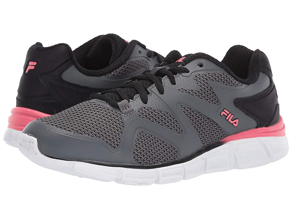 39bc5603d6d2 Fila Memory Cryptonic 2 Running (Castlerock Black Calypso Coral) Women s  Shoes