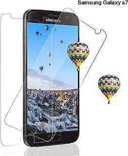 SNUNGPHIR® Samsung Galaxy S7 Protector Pantalla Cristal Templado Protector Pantalla para Samsung Galaxy S7 HD Clear Anti-Rasguños Libre De Burbujas Anti-Huellas Dactilares 9H Dureza [2 Piezas]