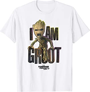 Guardians Vol.2 I AM GROOT Cute Angry T-Shirt C1
