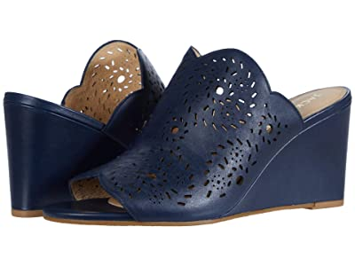 Jack Rogers Ronnie Wedge (Midnight) Women