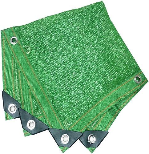 Auvent de terrasse Filet d'ombrage, auvents, filet solaire, écran de prougeection solaire, voiles de bache de tente de tente pour auvent, appropriées à la prougeection anti-UV, grandeurs multiples, vert F