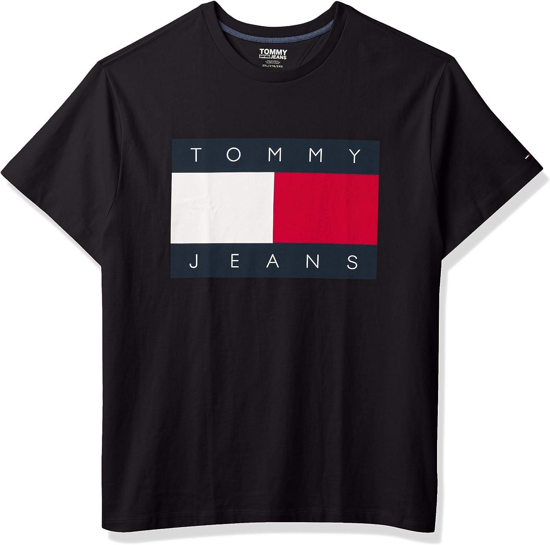 Tommy Hilfiger Men's Tommy Jeans Flag T Shirt