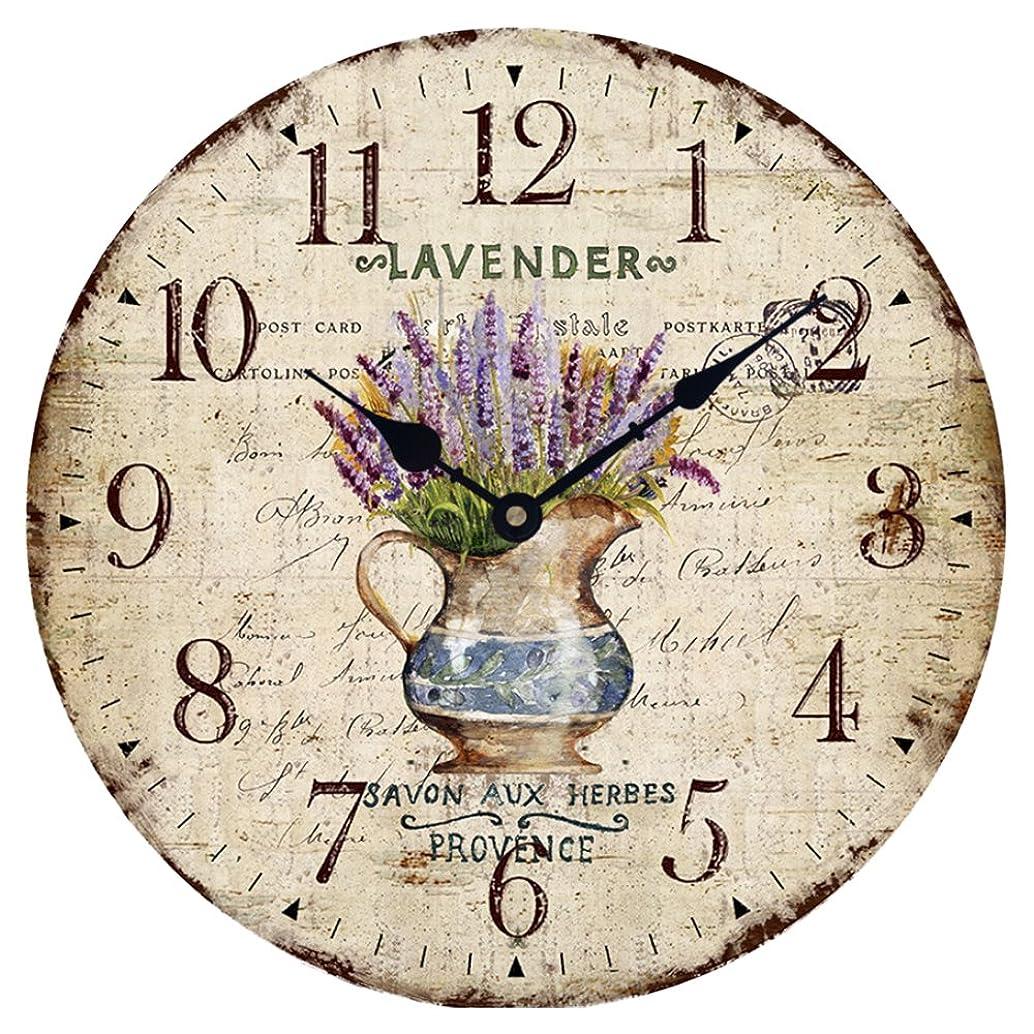 Wood Wall Clock 12