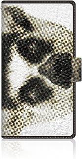 CaseMarket 【手帳型】 ELUGA power (P-07D) スリムケース ステッチモデル [CaseMarket Zoo I love Animals ! - ワオキツネザル] P-07D-VCM2S2581