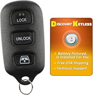 Discount Keyless Replacement Key Fob Car Remote For Toyota 4Runner Sequoia HYQ12BBX, HYQ12BAN, HYQ1512Y