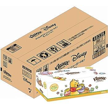 【ケース販売】 クリネックス ローションティシュー ディズニー プー 360枚(180組) ×10箱入り