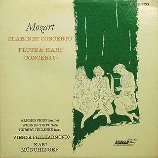 モーツアルト:クラリネット協奏曲;フルートとハープのための協奏曲 / Alfred Printz, Werner Tripp, Hubert Jellinek, Karl Munchinger, VPO [Vinyl LP]