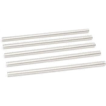 Hillman 44843 M8-1.25 x 100 Zinc Threaded Rod 10-Pack The Hillman Group