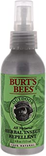 Burt's Bees 100% Natural Herbal Insect Repellent, DEET-Free Bug Spray - 4 Ounce Spray Bottle (Pack of 2)