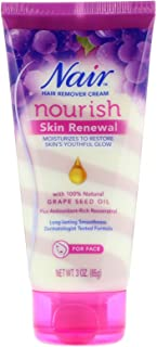Nair Hair Remover Nourish Skin Renewal Face 3 Ounce (88ml)