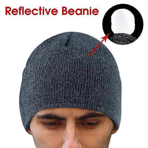 Lightweight Reflective Running Hat  Amazon.com 7e38d92f8ee