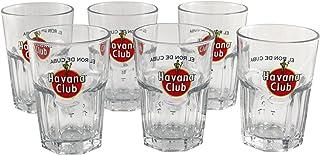 HAVANA Club Rum Gläser 6er SET Rumgläser Havanna ~mn 15 7f1l