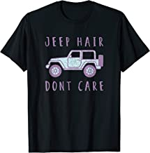 Jeep Hair Don't Care Shirt, Womens, Girls, Tee