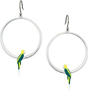 Lucky Brand Parrot Hoop Earrings
