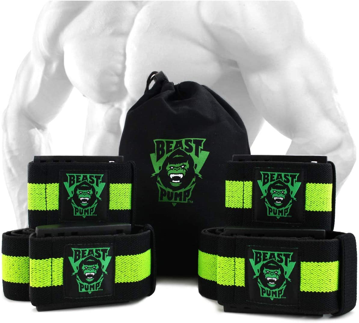 1 Pair Legs Blood Flow Restriction Weightlifting Muscles Occlusion Band Training