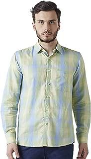 Crimsoune Club Green Check Men's Shirt
