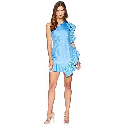 Bardot Lucia Frill Dress (Marina Blue) Women