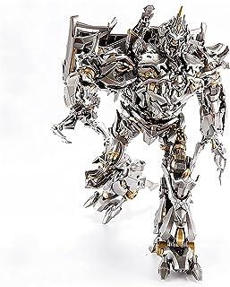 ロボットトランスフォーマー、KOメタルトランスフォーマーおもちゃメガトロンマクファードデンファイター子供用ギフトコレクションおもちゃ