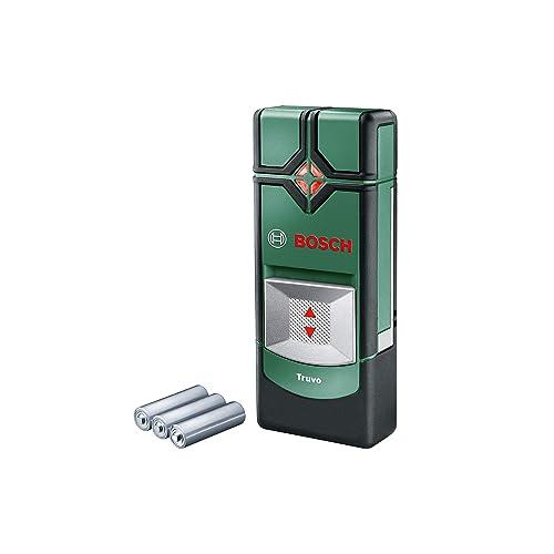 Bosch Truvo - Detector, 3 pilas AAA, profundidad de detección máx.: 70 mm, estuche