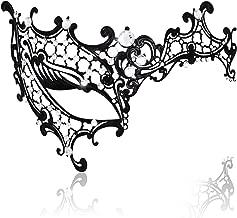 Womens Sexy Signature Phantom Of The Opera Masquerade Mask,RightEye, One size
