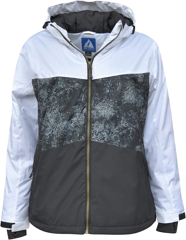 Snow Country Outerwear Womens Plus Size Vibe Ski Coat Jacket