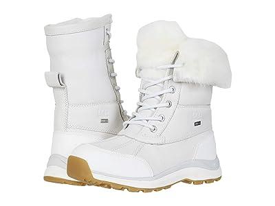 UGG Adirondack Boot III Fluff (White) Women