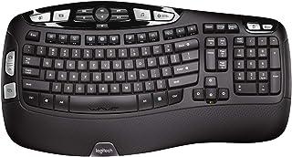 Logitech K350 Tastiera Wireless, Layout Scandinavo Qwerty
