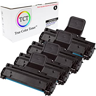 TCT Premium Compatible Toner Cartridge Replacement for Samsung ML-2010D3 Black Works with Samsung ML-2010 ML-2510 ML-2570 ML-2571N, SCX-4521F SCX-4521FG Printers (3,000 Pages) - 4 Pack