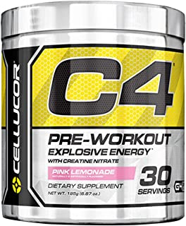 Cellucor C4 Pre Workout Supplement Pink Lemonade, 195 g
