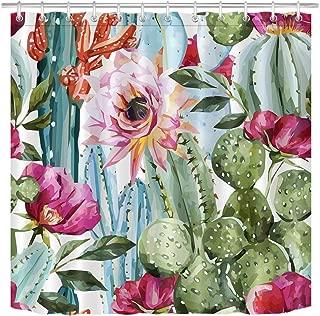 cactus floral fabric