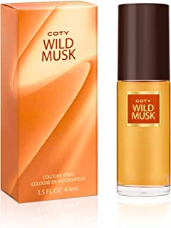 Coty Wild Musk Cologne Spray 1.5 Ounce Women's Fragrance...
