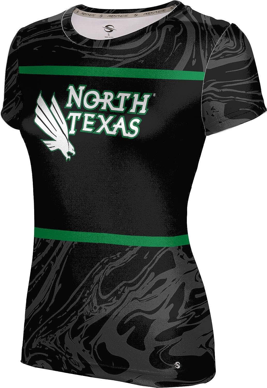 ProSphere University of North Texas Girls' Performance T-Shirt (Ripple)
