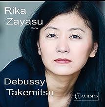 Debussy/ Takemitsu: Zayasu (Piano Music) (Rika Zayasu) (Claudio Records: CR6003-6) [DVD de Audio]