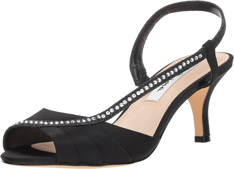 NINA Woherren Woherren Cabell Heeled Sandal, schwarz, 9.5 M US  bis zu 70% sparen