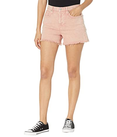 7 For All Mankind Monroe Cutoffs Shorts in Mineral Rose Women