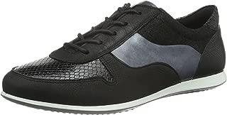 ECCO Footwear Womens Touch Tie Fashion Sneaker Black