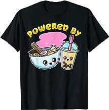 Ramen Bubble Tea T Shirt Boba Japanese Noodles Anime Gift