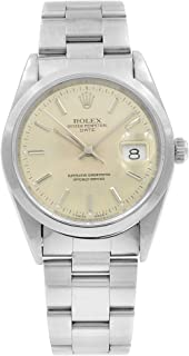 Rolex Date Automatic-self-Wind Male Watch 15200 (Certified Pre-Owned)