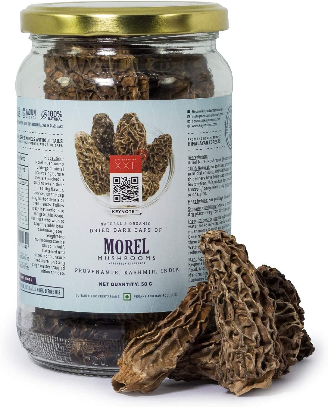 Carlos Keynote Morel Mushrooms Shipping included Dried Morels Dark Without Large Raleigh Mall