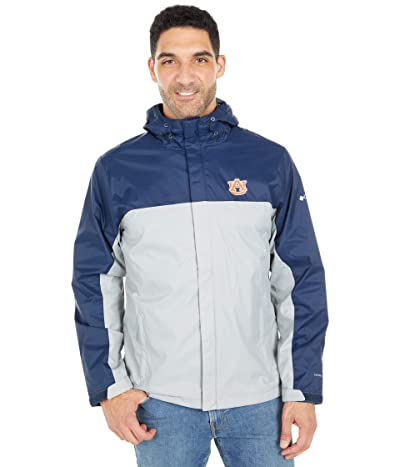 Columbia College Auburn Tigers Glennaker Stormtm Jacket (Collegiate Navy/Columbia Grey) Men