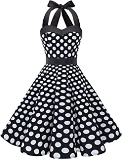 d8daa955a14 Amazon.com: Polka Dot - Cocktail / Dresses: Clothing, Shoes & Jewelry